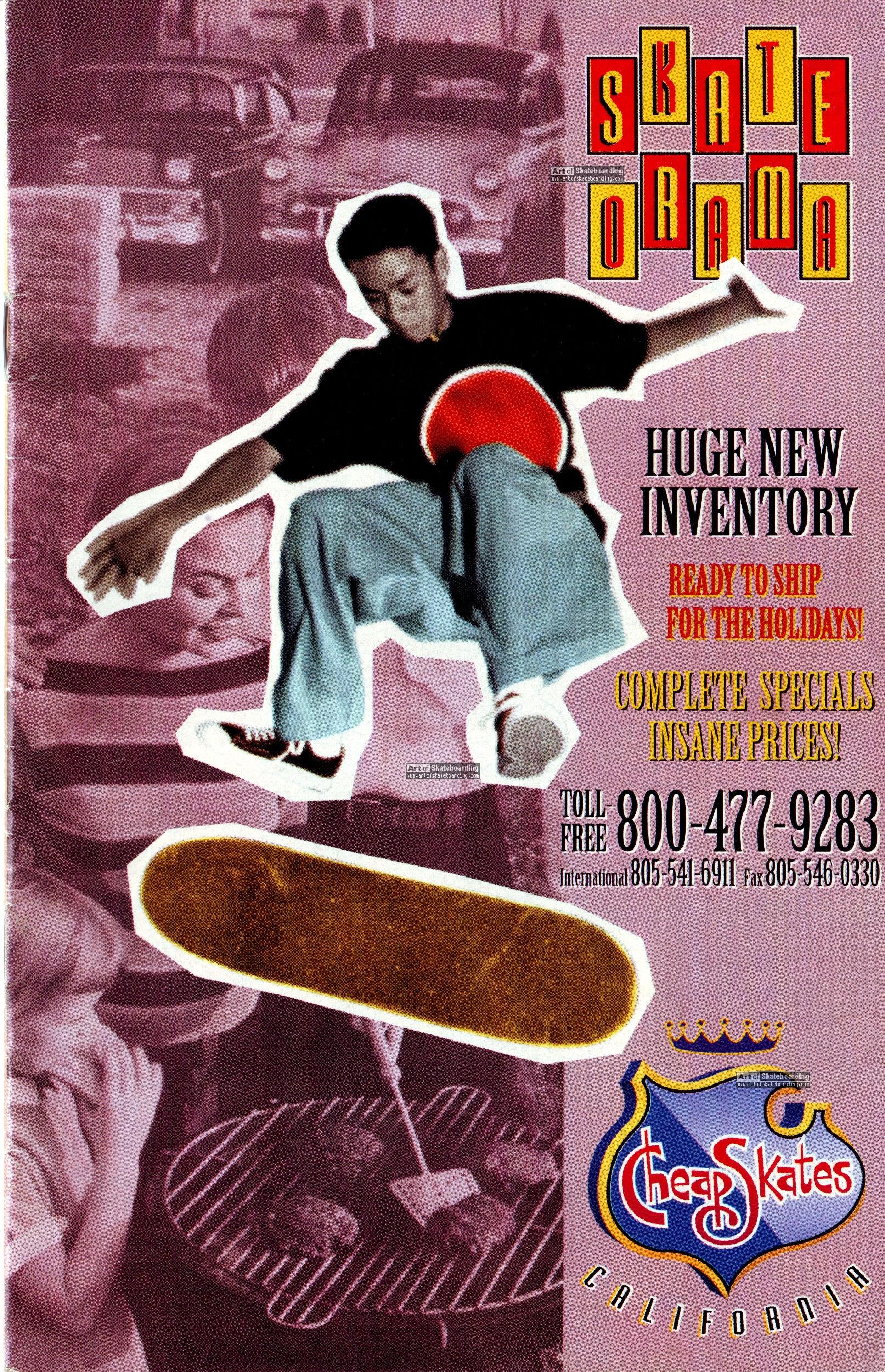 separation shoes 0ecb0 33b47 CCS winter 1993 catalog - SKATE ORAMA